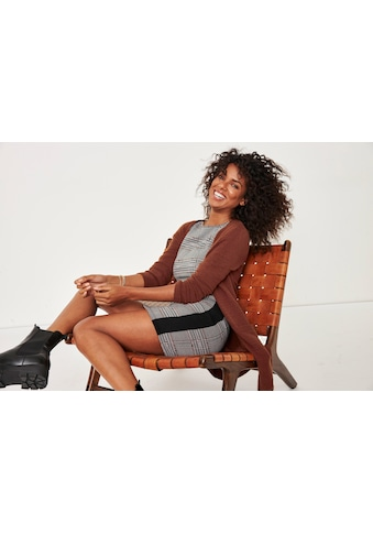 Tamaris Jerseykleid, in Karo-Design - NEUE KOLLEKTION kaufen