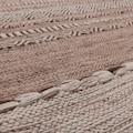 Paco Home Teppich »Kilim 217«, rechteckig, 8 mm Höhe, hangefertigter Web-Teppich mit Fransen, Wohnzimmer