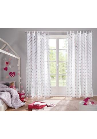 Gardine, »Emma«, Lüttenhütt, Bindebänder 1 Stück kaufen