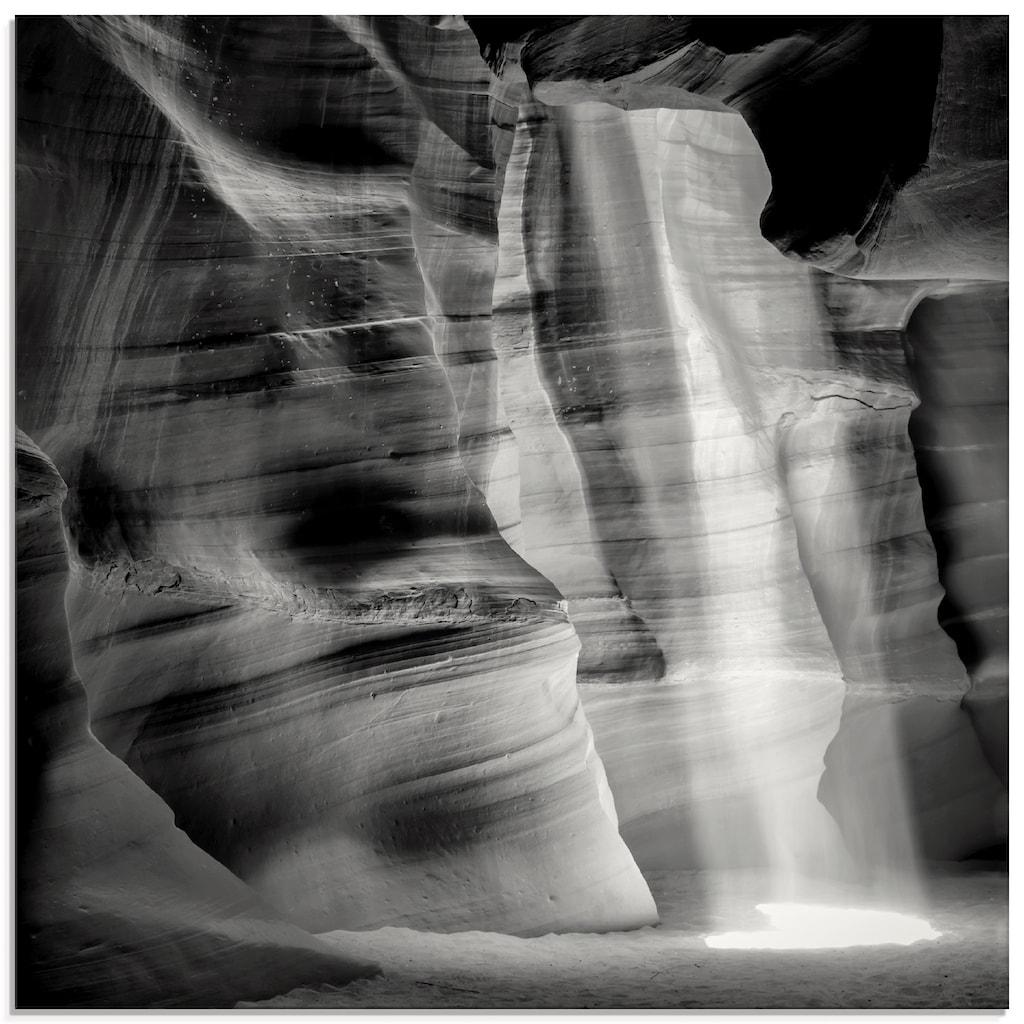 Artland Glasbild »Antelope Canyon II«, Amerika, (1 St.)
