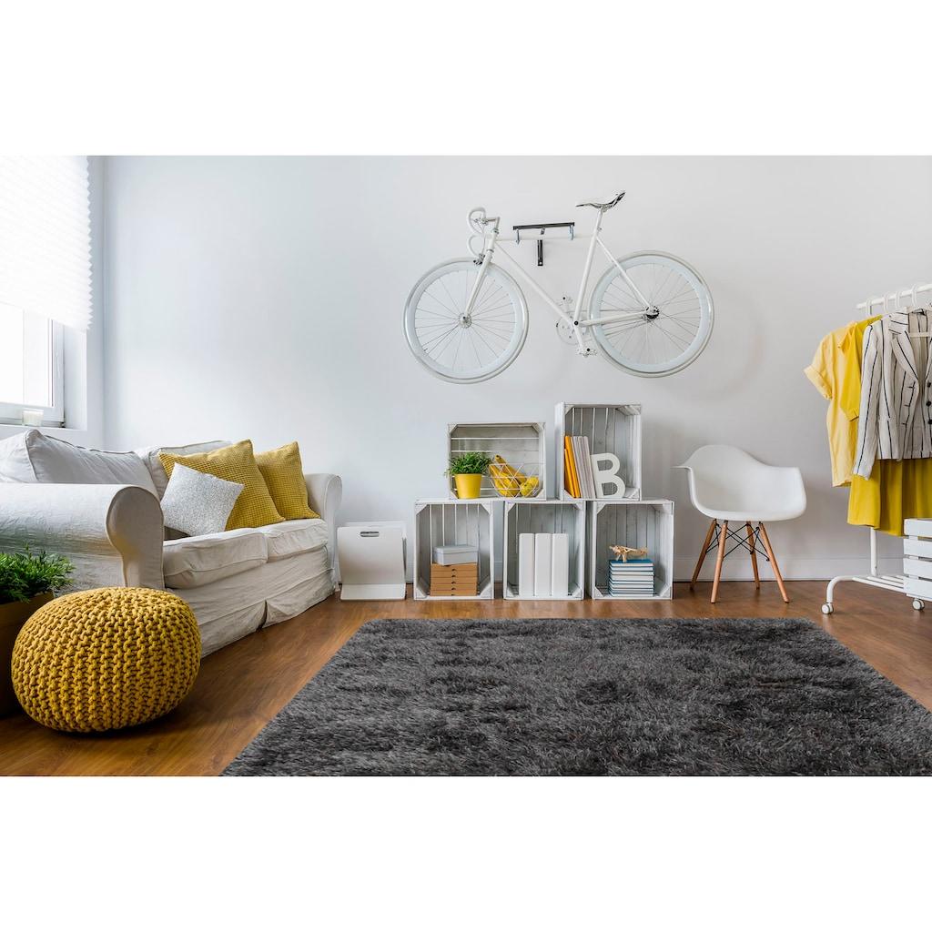 Hochflor-Teppich, »Soho«, Living Line, rechteckig, Höhe 60 mm, maschinell gewebt