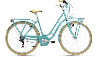 KS Cycling Cityrad »Swan«, 6 Gang, Shimano, Tourney Schaltwerk, Kettenschaltung kaufen