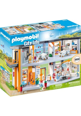 Playmobil® Konstruktions-Spielset »Großes Krankenhaus mit Einrichtung (70190), City... kaufen