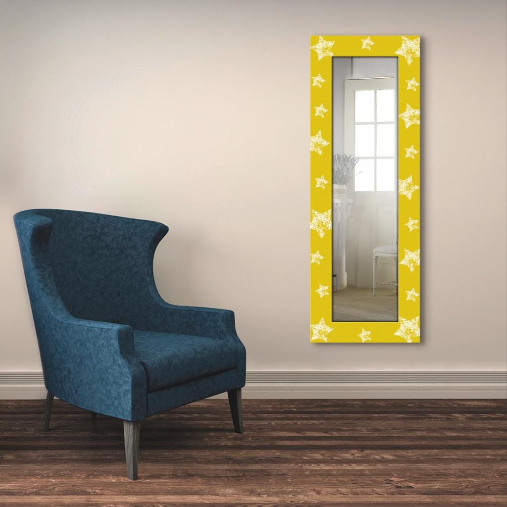 Artland Wandspiegel »Sterne«, gerahmter Ganzkörperspiegel mit Motivrahmen, geeignet für kleinen, schmalen Flur, Flurspiegel, Mirror Spiegel gerahmt zum Aufhängen