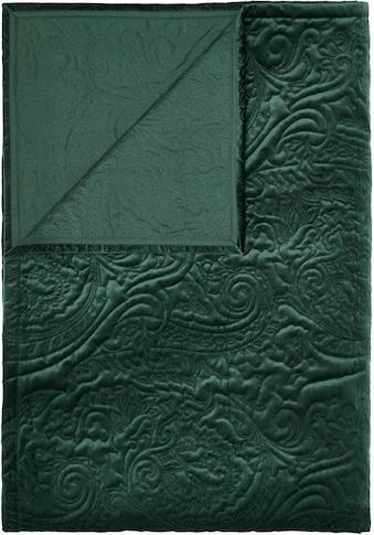 Essenza Tagesdecke »Roeby«, mit elegant gesticktem Paisley-Muster kaufen
