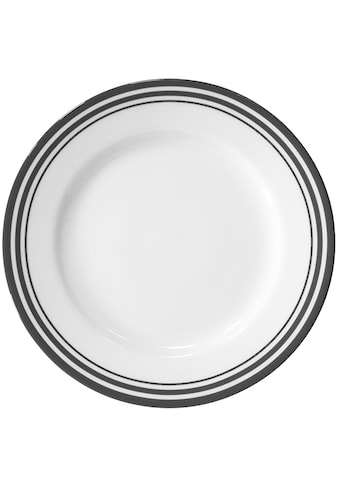 Fink Platzteller »Moments«, Ø 30 cm, Porzellan mit Streifen kaufen