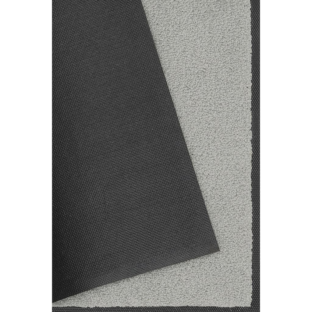 wash+dry by Kleen-Tex Fußmatte »Original Uni«, rechteckig, 7 mm Höhe, In- und Outdoor geeignet, waschbar