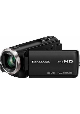 Panasonic Camcorder »HC-V180EG-K«, Full HD, 50x opt. Zoom, Bildstabilisator kaufen
