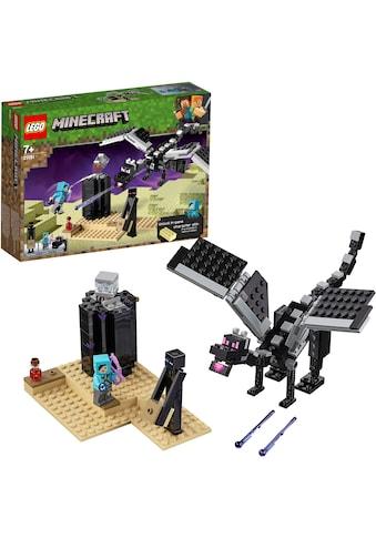 LEGO® Konstruktionsspielsteine »Das letzte Gefecht (21151), LEGO® Minecraft™«, (222... kaufen