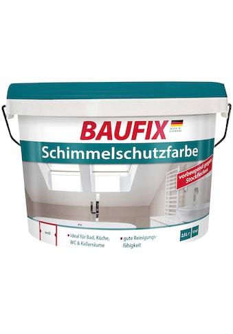 Baufix Feuchtraumfarbe »Schimmelschutzfarbe«, 2,5 l, Innenbereich kaufen