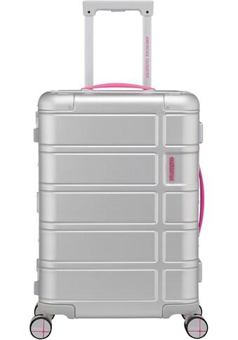 "American Tourister® Hartschalen - Trolley ""Alumo, 55 cm, pink"", 4 Rollen kaufen"