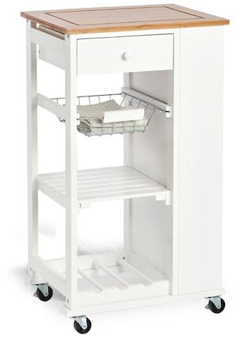 Zeller Present Küchenwagen, mit 4 Rollen kaufen