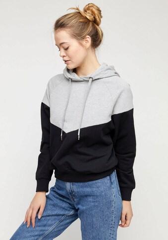 MAZINE Sweatshirt »Olbia«, cooles Hoodie und sportiven Kontrast-Details kaufen