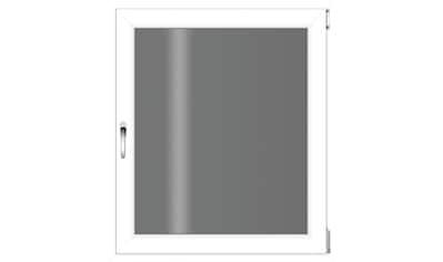RORO Türen & Fenster Kunststofffenster, BxH: 75x90 cm, ohne Griff kaufen