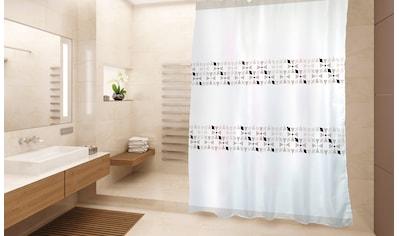 MSV Duschvorhang »PREMIUM PORTO«, Breite 180 cm, Höhe 200 cm kaufen