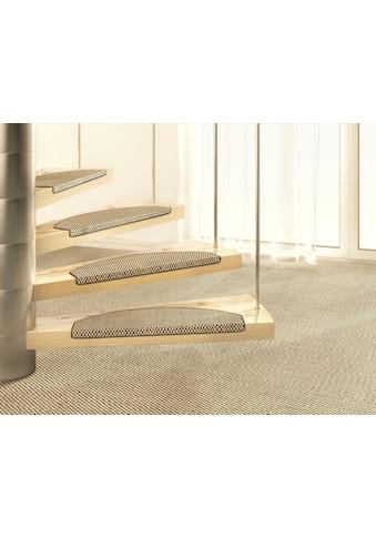 Stufenmatte, »Brasil«, Dekowe, halbrund, Höhe 10 mm, maschinell gewebt kaufen