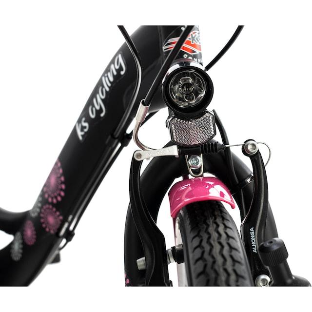 KS Cycling Jugendfahrrad »Dandelion«, 21 Gang Shimano Tourney Schaltwerk, Kettenschaltung