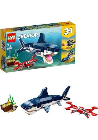 LEGO® Konstruktionsspielsteine »Bewohner der Tiefsee (31088), LEGO® Creator 3in1«,... kaufen