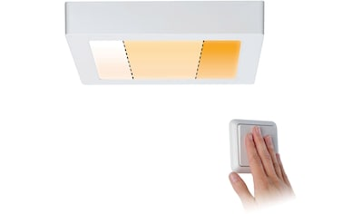 Paulmann LED Deckenleuchte »Carpo LED Panel Warmdimmfunktion Weiß matt 13W Metall«, Warmweiß-Extra-Warmweiß, LED Deckenlampe kaufen