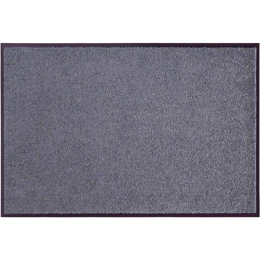 HANSE Home Fußmatte »Wash & Clean«, rechteckig, 7 mm Höhe, In- und Outdoor geeignet, waschbar