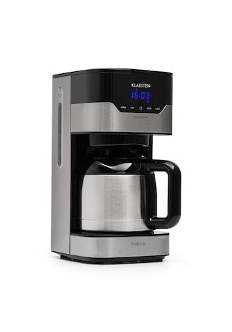Klarstein Kaffeemaschine Kaffeeautomat Thermoskanne Filter 800 W »Arabica« kaufen