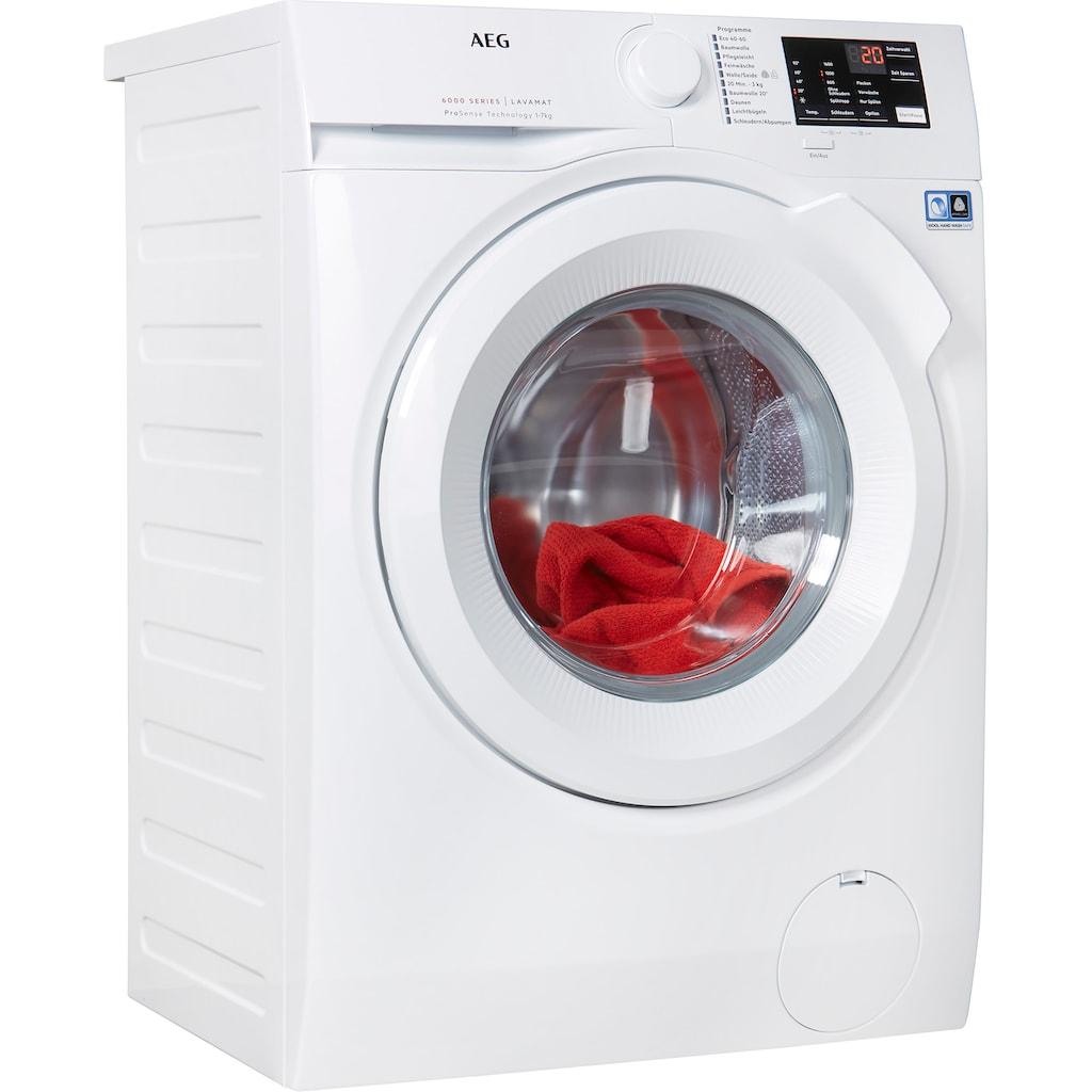 AEG Waschmaschine, L6FBA5670