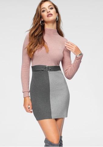 Melrose Strickkleid, mit Ziergürtel kaufen