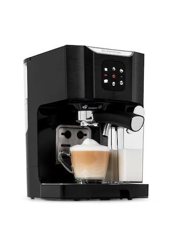 Klarstein Kaffeemaschine 1450 W 20 Bar Milchschäumer 3in1 schwarz kaufen