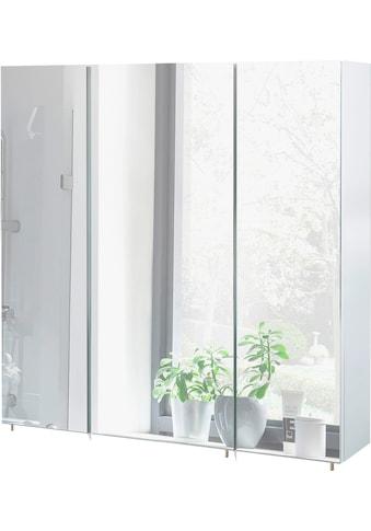 Schildmeyer Spiegelschrank »Basic«, Breite 70 cm, 3-türig, Glaseinlegeböden, Made in... kaufen
