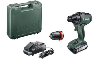 BOSCH Akku-Bohrschrauber »AdvancedDrill 18«, (Set), inkl. Akku, Ladegerät & Zubehör kaufen