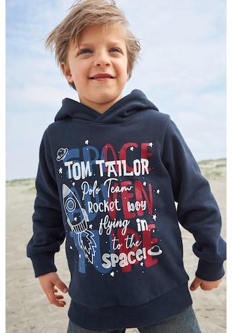 TOM TAILOR Polo Team Kapuzensweatshirt »ROCKET BOY...« kaufen