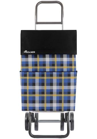 Rolser Einkaufstrolley »DOS+2 DML Scottish«, in verschiedenen Farben, Max. Tragkraft: 40 kg, Tasche abnehmbar kaufen