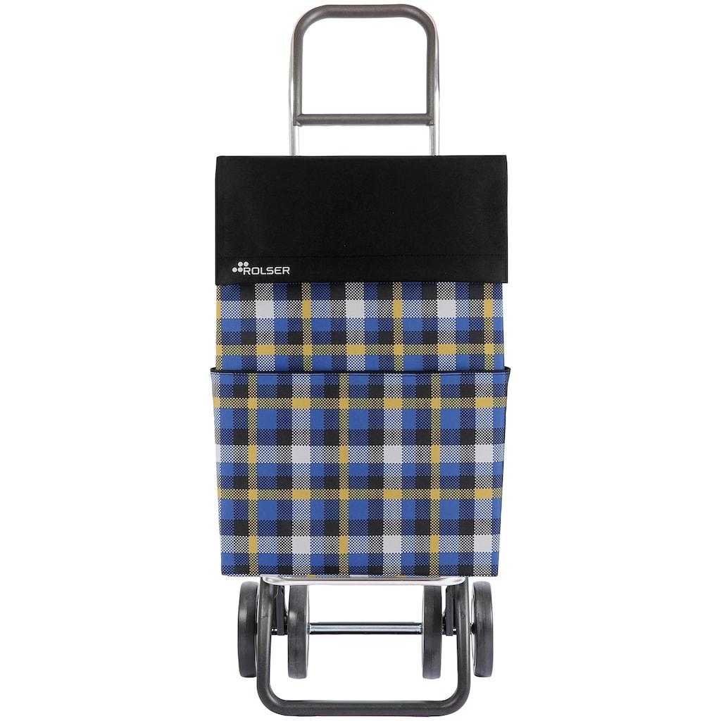 Rolser Einkaufstrolley »DOS+2 DML Scottish«, in verschiedenen Farben, Max. Tragkraft: 40 kg, Tasche abnehmbar
