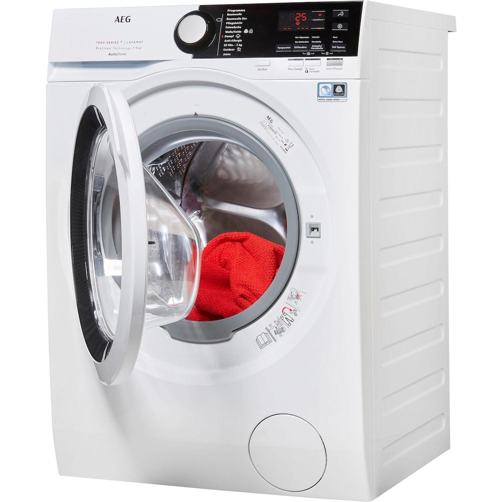 AEG Waschmaschine »LAVAMAT L7FB78490«, SERIE 7000 LAVAMAT, L7FB78490, mit AutoDose & WiFi Steuerung