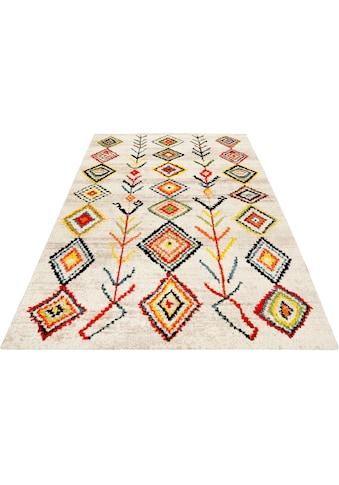 Wecon home Teppich »Medina«, rechteckig, 13 mm Höhe, Wohnzimmer kaufen
