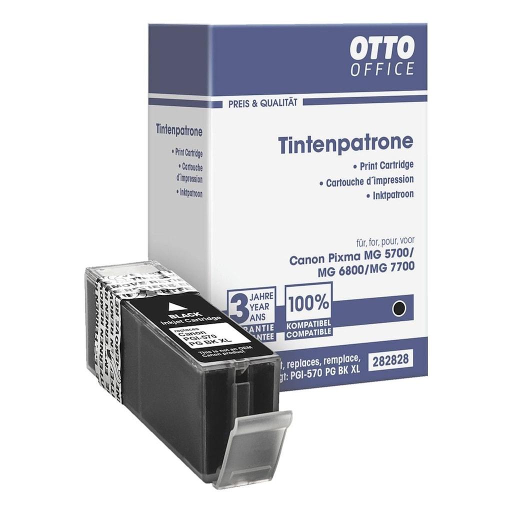 Otto Office Tintenpatrone ersetzt Canon XL »PGI-570 PG BK«