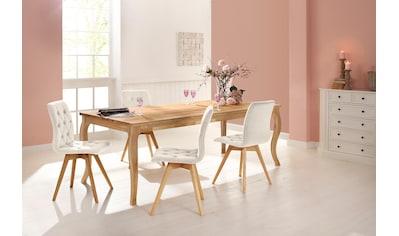 """Home affaire 4 - Fußstuhl """"Rania"""" kaufen"""