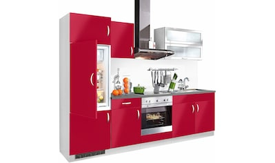 wiho Küchen Küchenzeile »Amrum«, mit E-Geräten, Breite 270 cm kaufen