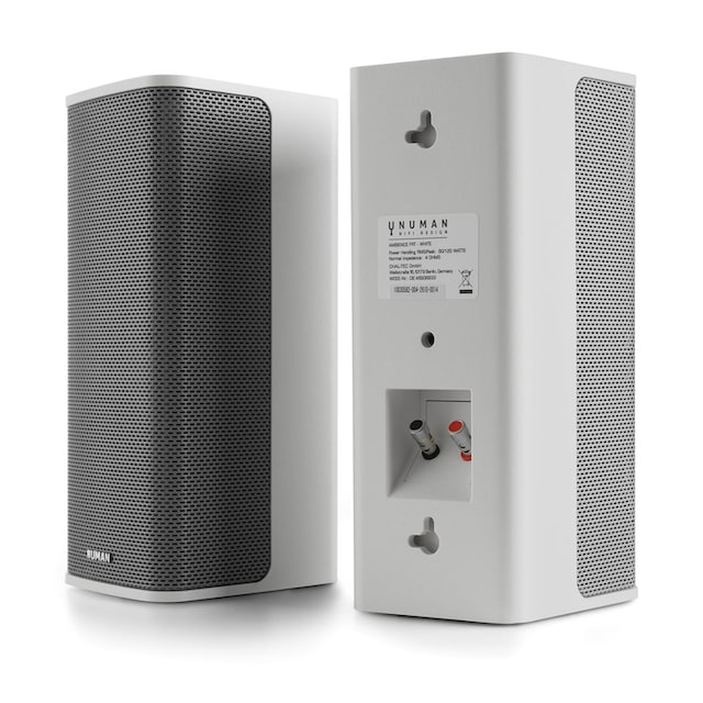 NUMAN 2.0 Stereo-System, 2 x 60 Watt RMS, 12 m Kabel, weiß »Ambience«