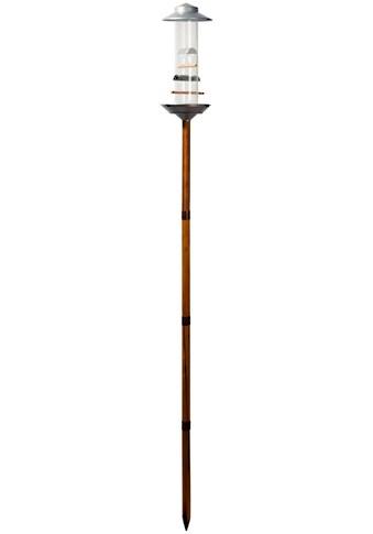 LUXUS - VOGELHAUS Futterspender mit Standbein, BxTxH: 16,5x16,5x138 cm, silberfarben kaufen