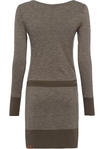 Ragwear Jerseykleid »ALEXA«, mit Zierperlen-Besatz am Bindeband kaufen