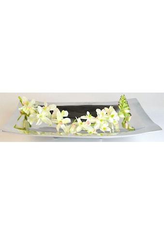 ARTRA Dekoschale »Aluminiumschale 'Bowl with Feet' M -Dekoration, Tischschale« kaufen