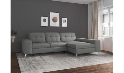 sit&more Ecksofa »Balvieni«, inklusive Sitztiefenverstellung und Federkern, wahlweise... kaufen