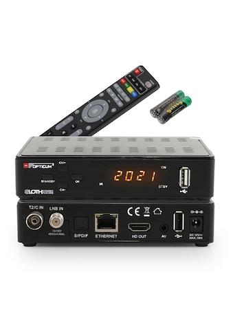 Opticum Red SAT-Receiver »Sloth HD Combo mini S2/T2/C2 IPTV«, PVR Ready, Triple Tuner... kaufen