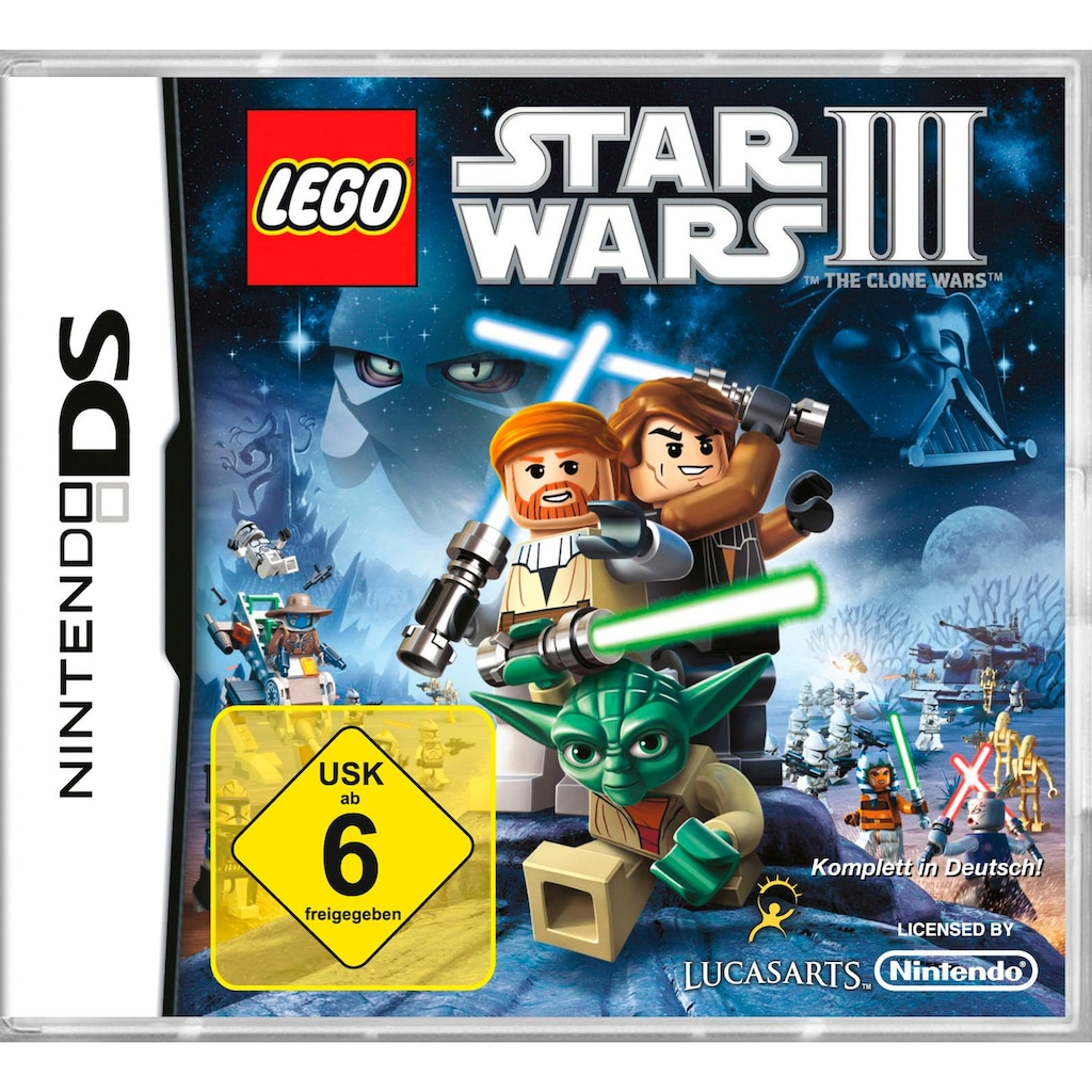Lucas Arts Spiel »Lego Star Wars 3: The Clone Wars«, Nintendo 3DS, Software Pyramide