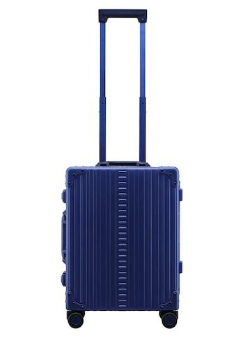 ALEON Hartschalen-Trolley »Aluminiumkoffer International Carry-On, 55 cm«, 4 Rollen, inkl. Kabeltasche, Packwürfel und Schutzhülle kaufen