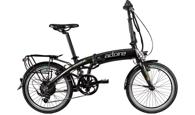 Adore E - Bike »Cologne«, 6 Gang Shimano Tourney Schaltwerk, Kettenschaltung, Heckmotor 250 W kaufen