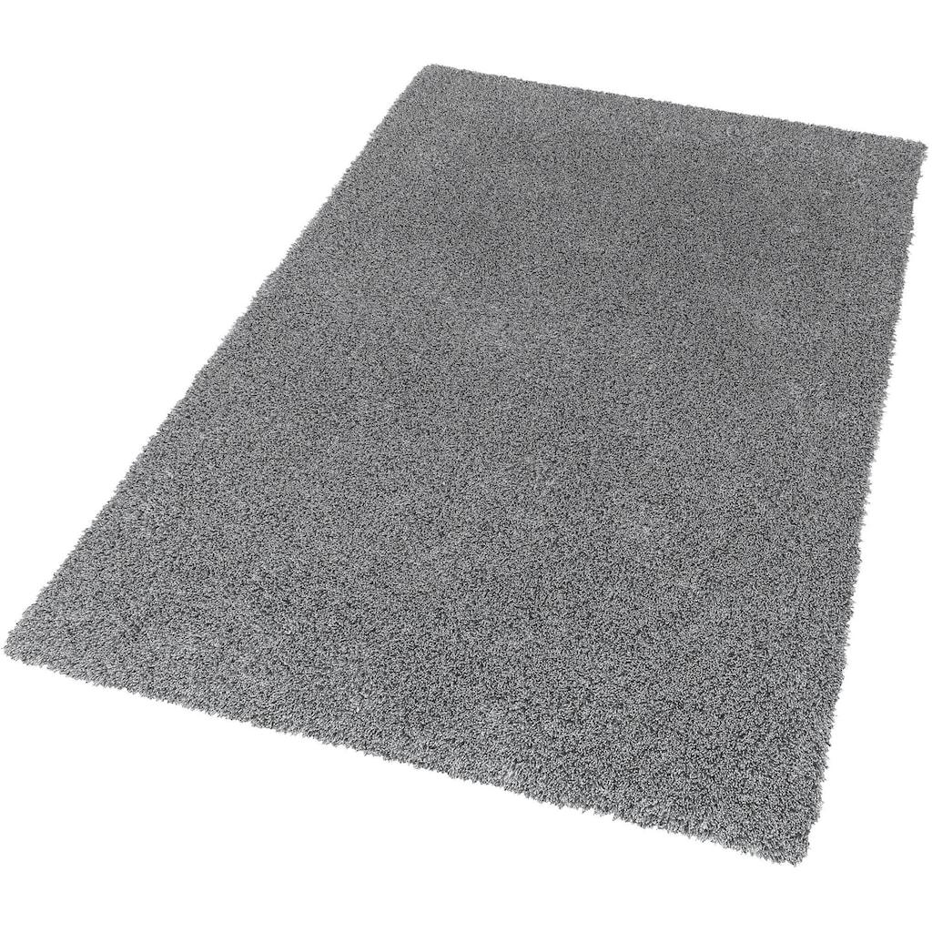 SCHÖNER WOHNEN-Kollektion Hochflor-Teppich »New Feeling«, rechteckig, 40 mm Höhe, Wunschmaß, weiche Microfaser, Wohnzimmer