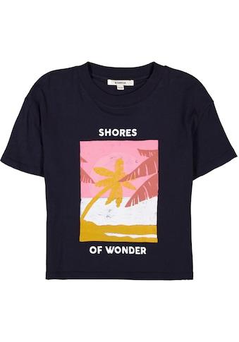 Garcia T-Shirt »Shores of wonder«, kürzere Form kaufen
