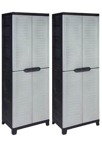 Kreher Mehrzweckschrank »Elite«, (Set), B/T/H: 65x45x171 cm, abschließbar kaufen